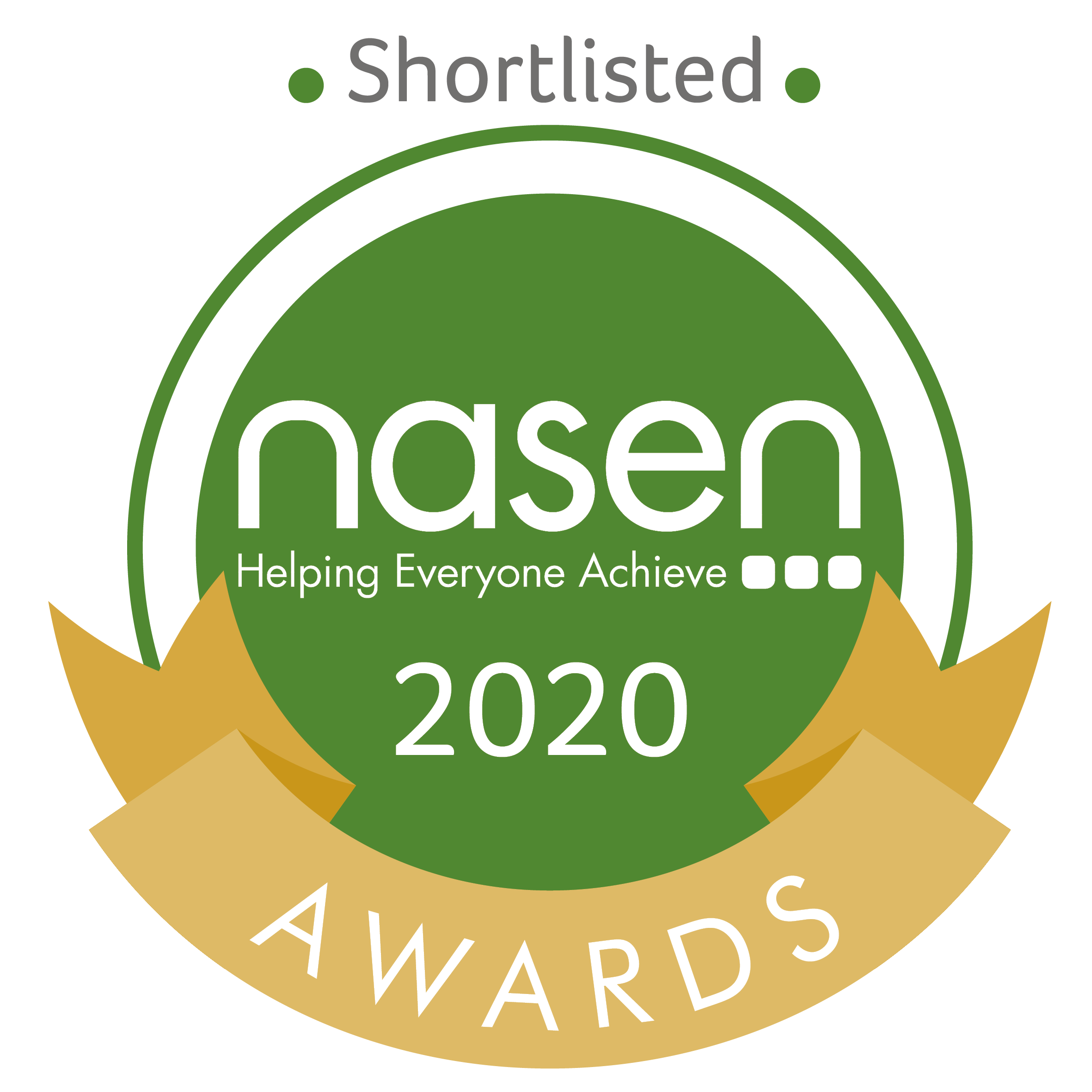 We have been shortlisted for the 'Nasen Innovation Award for Technology.'