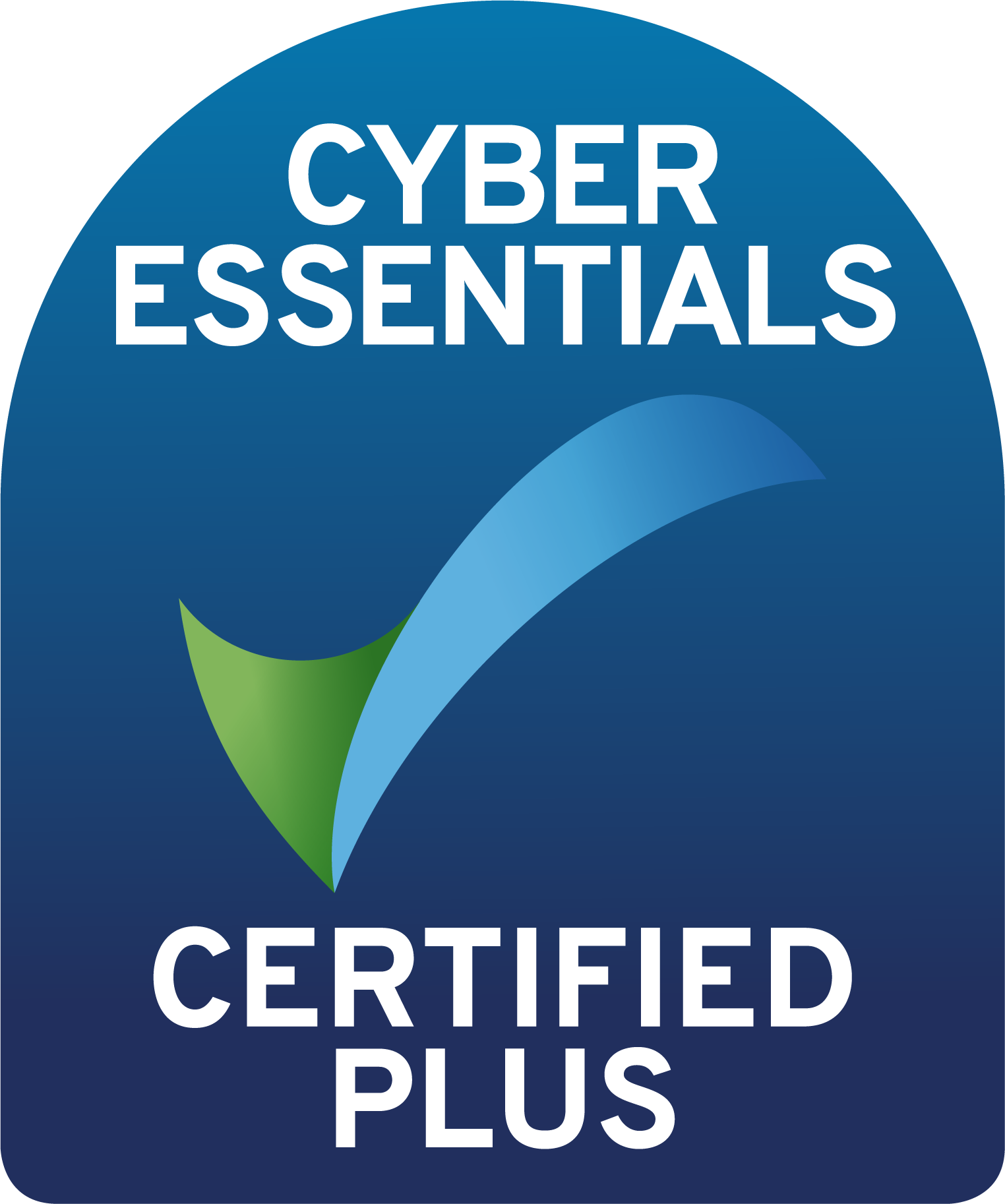 We have our Cyber Essentials Plus Certification.