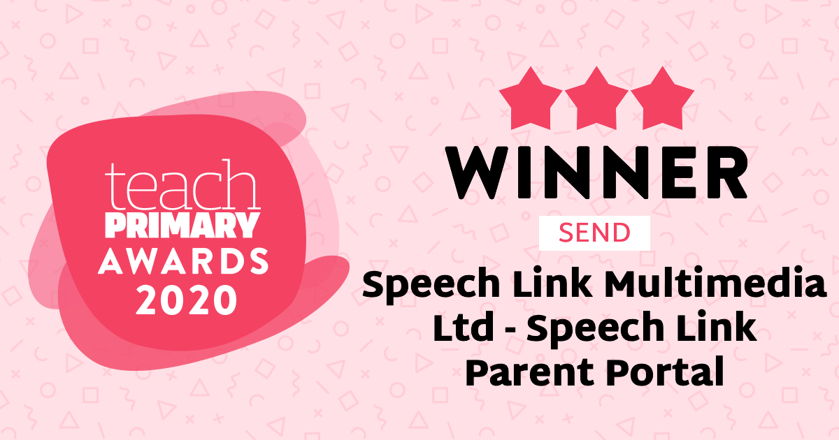 Teach primary awards 2020 Winner