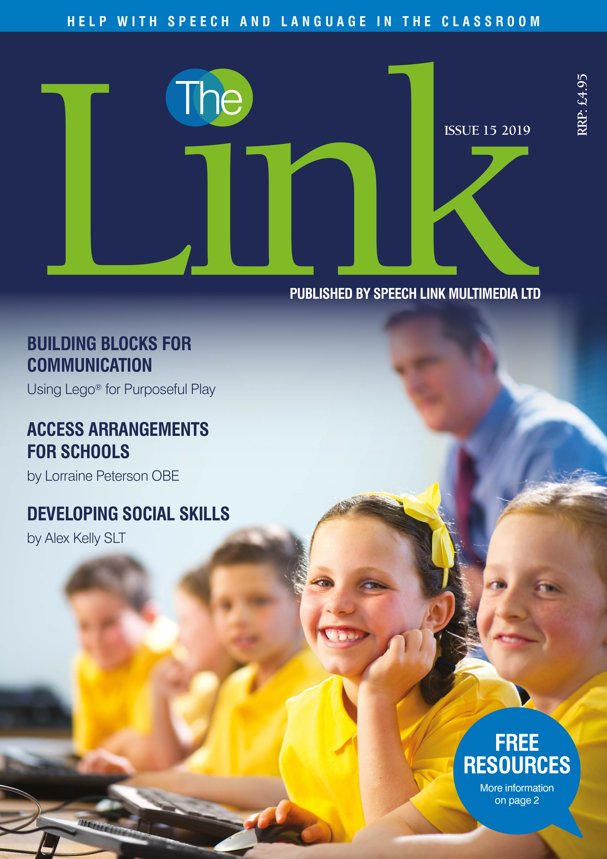 The Link Magazine Cover