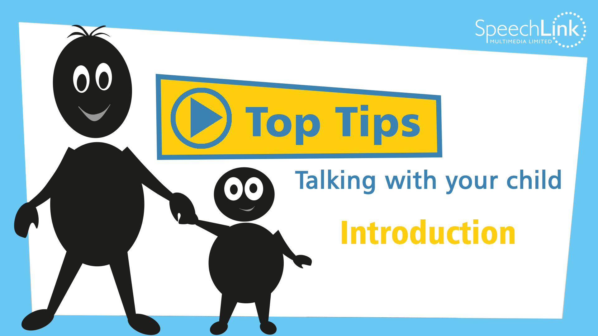 Top Tips, talking with your child introduction