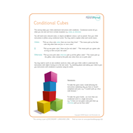 Gold up to 11. Conditional cubes.