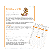 Parents orange up to 2. First 50 words.